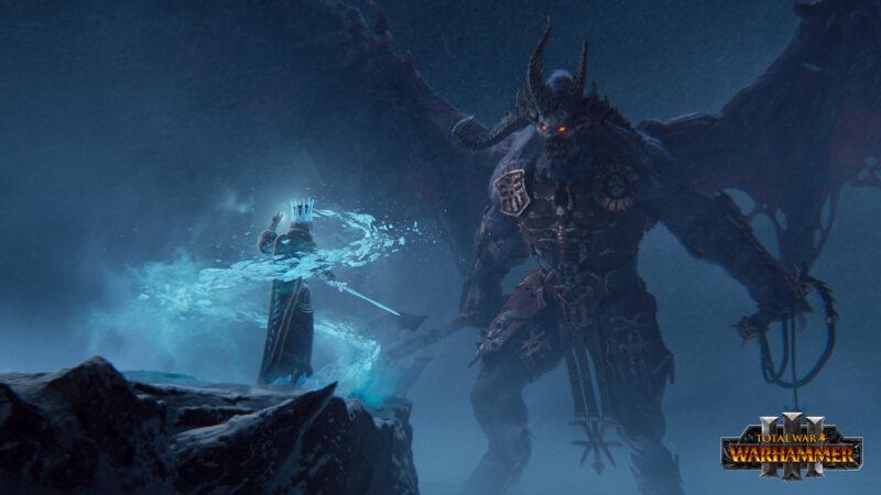 Total War: Warhammer III démon