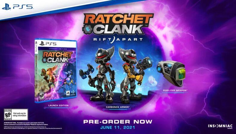 date de sortie de Ratchet & Clank : Rift Apart