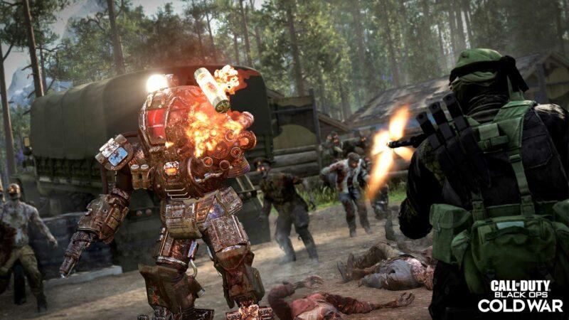 outbreak zombie mécha vs soldat