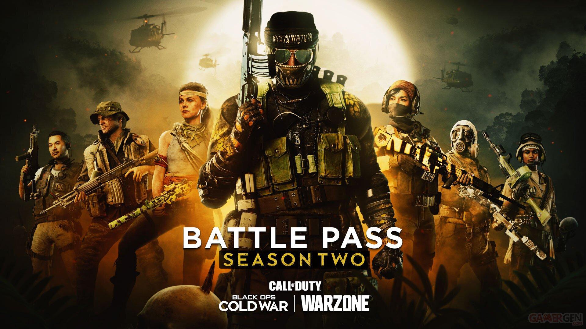 Call of Duty: Black Ops warzone saison deux annonce battle pass