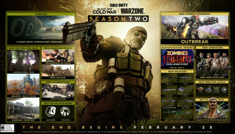 Call of Duty Warzone saison 2