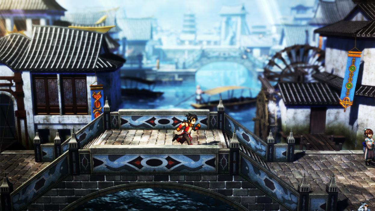 Image gameplay de Eiyuden Chronicle: Hundred Heroes