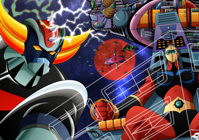 UFO Robot Grendizer Title