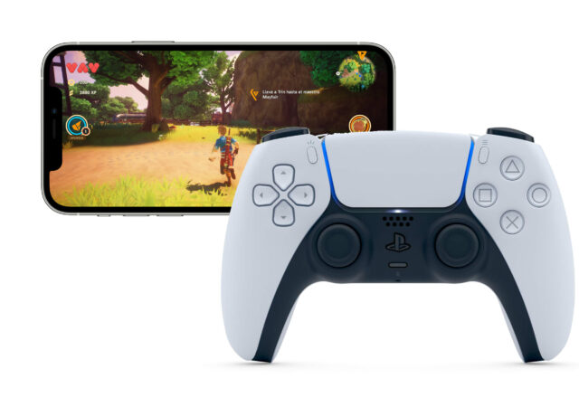 manette PS5 iPhone
