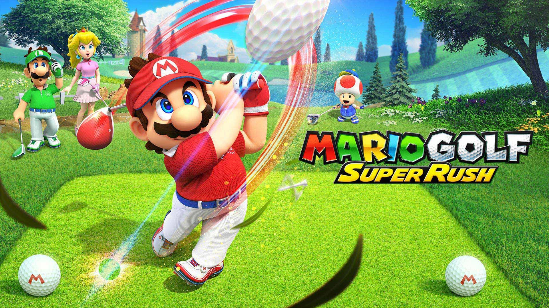 Mario golf surper rush swing sur switch