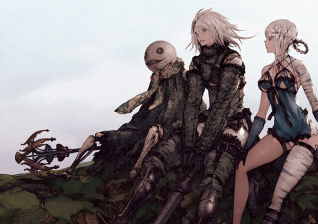 nier replicant art personnages