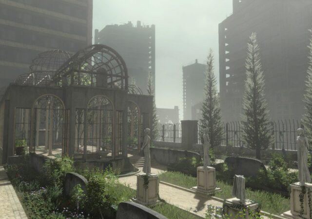 nier replicant remaster - jardin