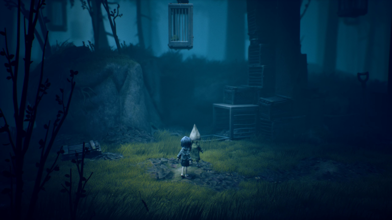 Little Nightmares 2 soluce chapeau imperméable jaune