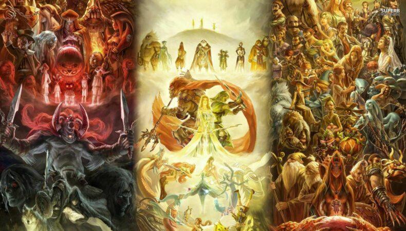 The Legend of Zelda fresque