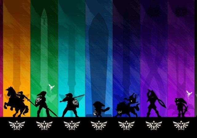 The Legend of Zelda all link