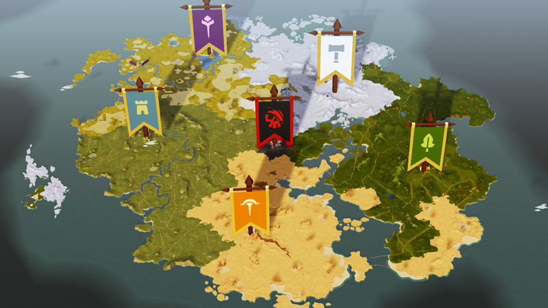 Albion Online map