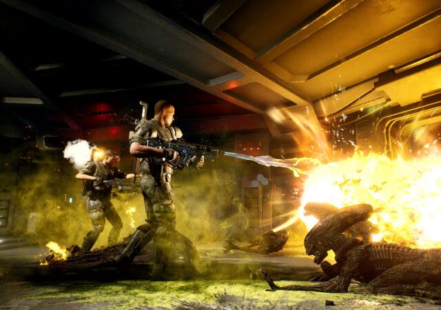 Annonce du jeu Aliens: Fireteam