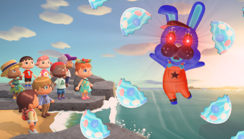 Animal Crossing: New Horizons devil bunny