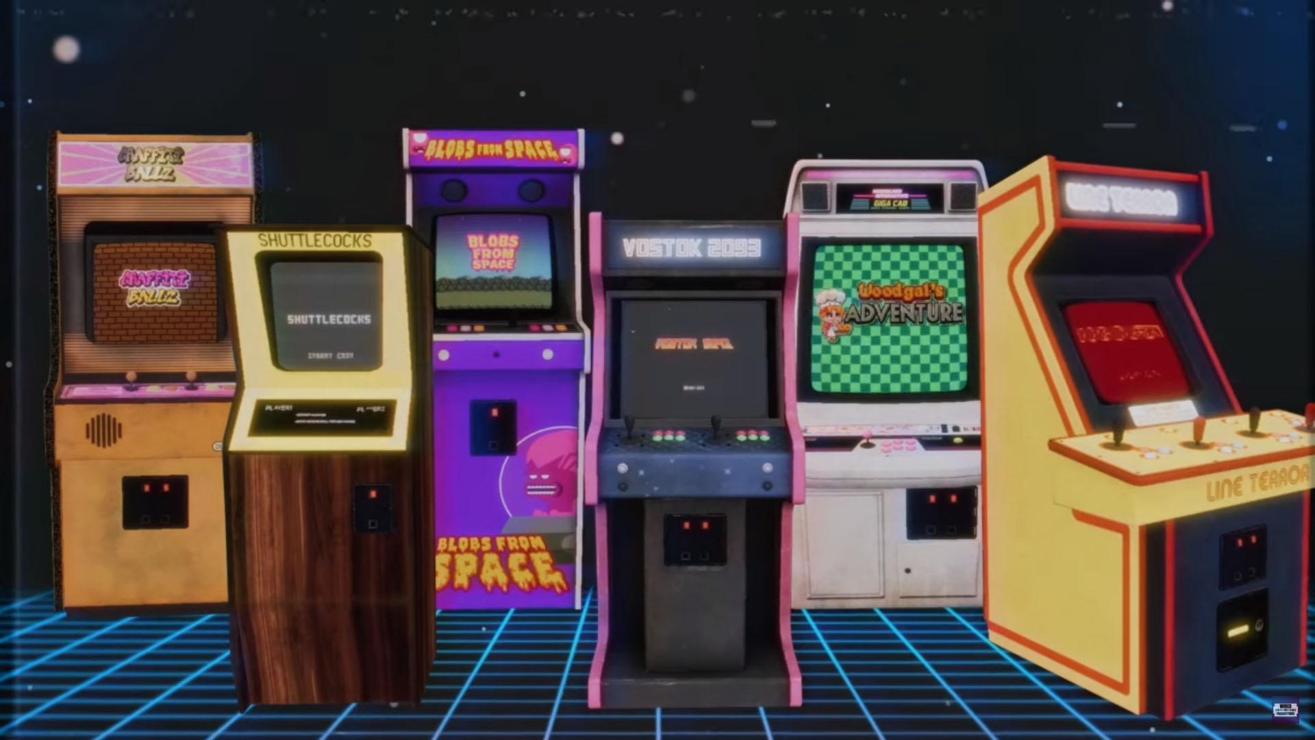 Arcade Paradise bornes