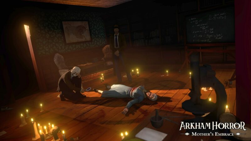 Arkham Horror: Mother's Embrace mort