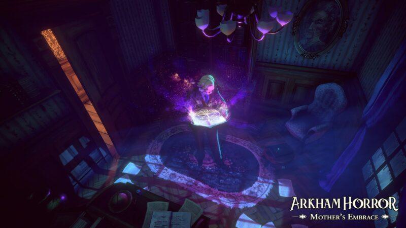 Arkham Horror: Mother's Embrace livre surnaturel