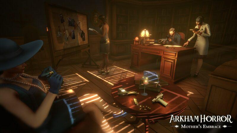 Arkham Horror: Mother's Embrace enquête 2