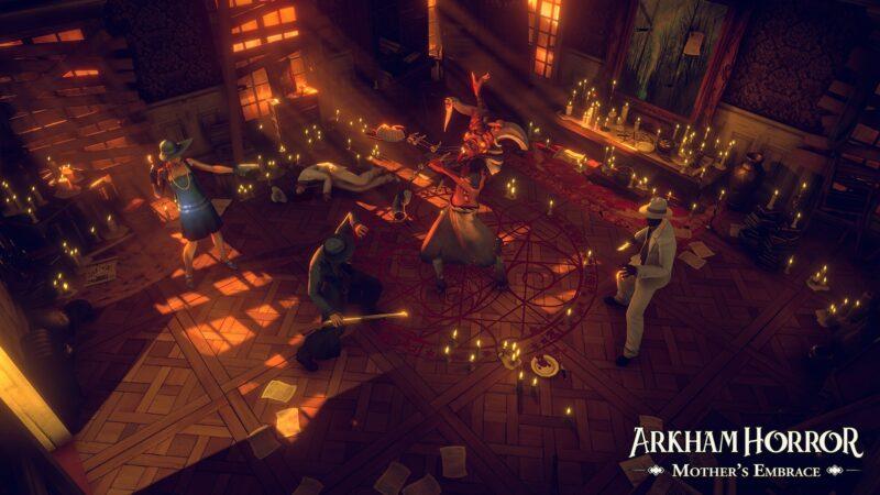 Arkham Horror: Mother's Embrace enquête