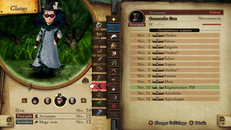 Bravely Default II - Arcaniste