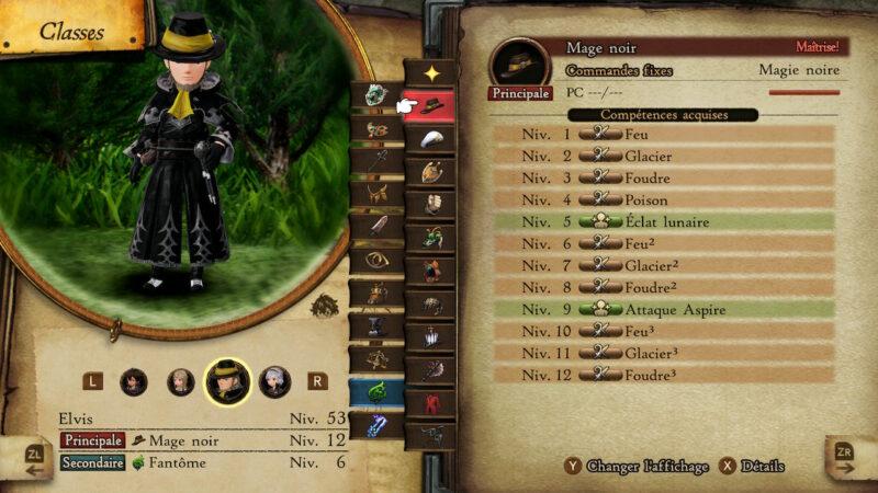 Bravely Default II - Mage Noir