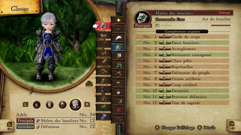 Bravely Default II - Maître des boucliers