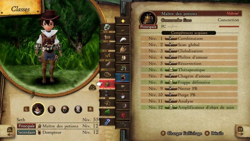 Bravely Default II - Maître des potions