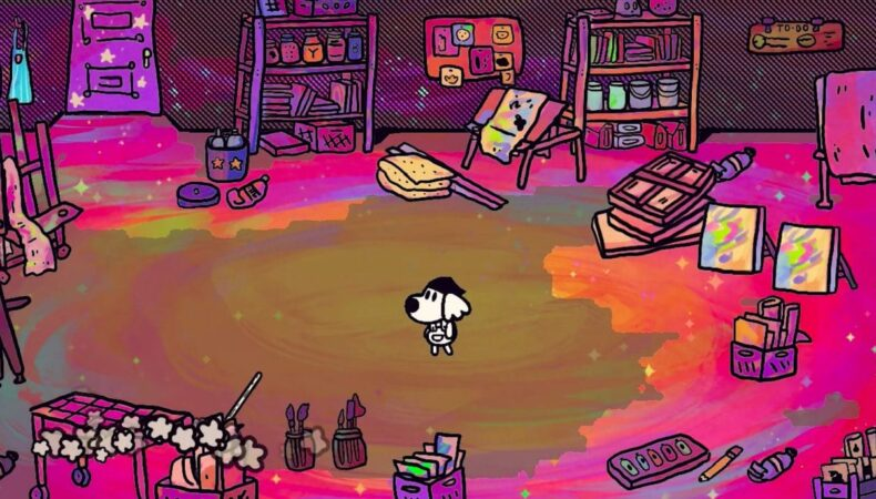 Chicory: A Color'ful Tale sortie trailer