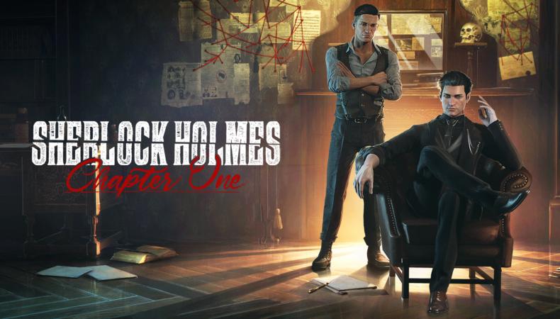 Sherlock Holmes Chapter One logo