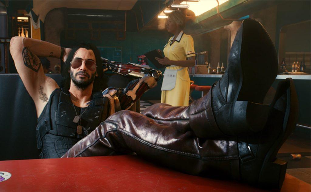 Cyberpunk 2077 CD Projekt Keanu Reeves