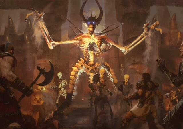 Diablo II: Resurrected squelette