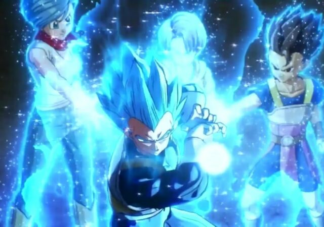 Dragon Ball Xenoverse 2 Blue vegeta