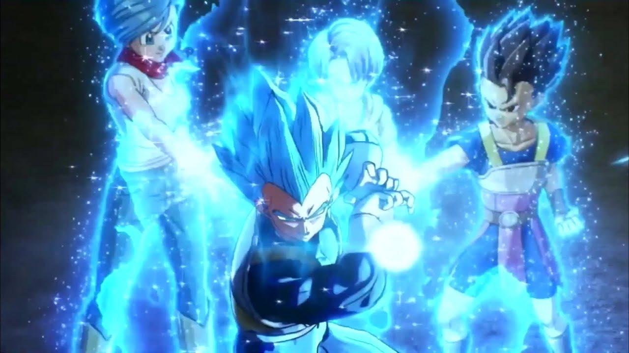 Dragon Ball Xenoverse 2 Blue vegeta