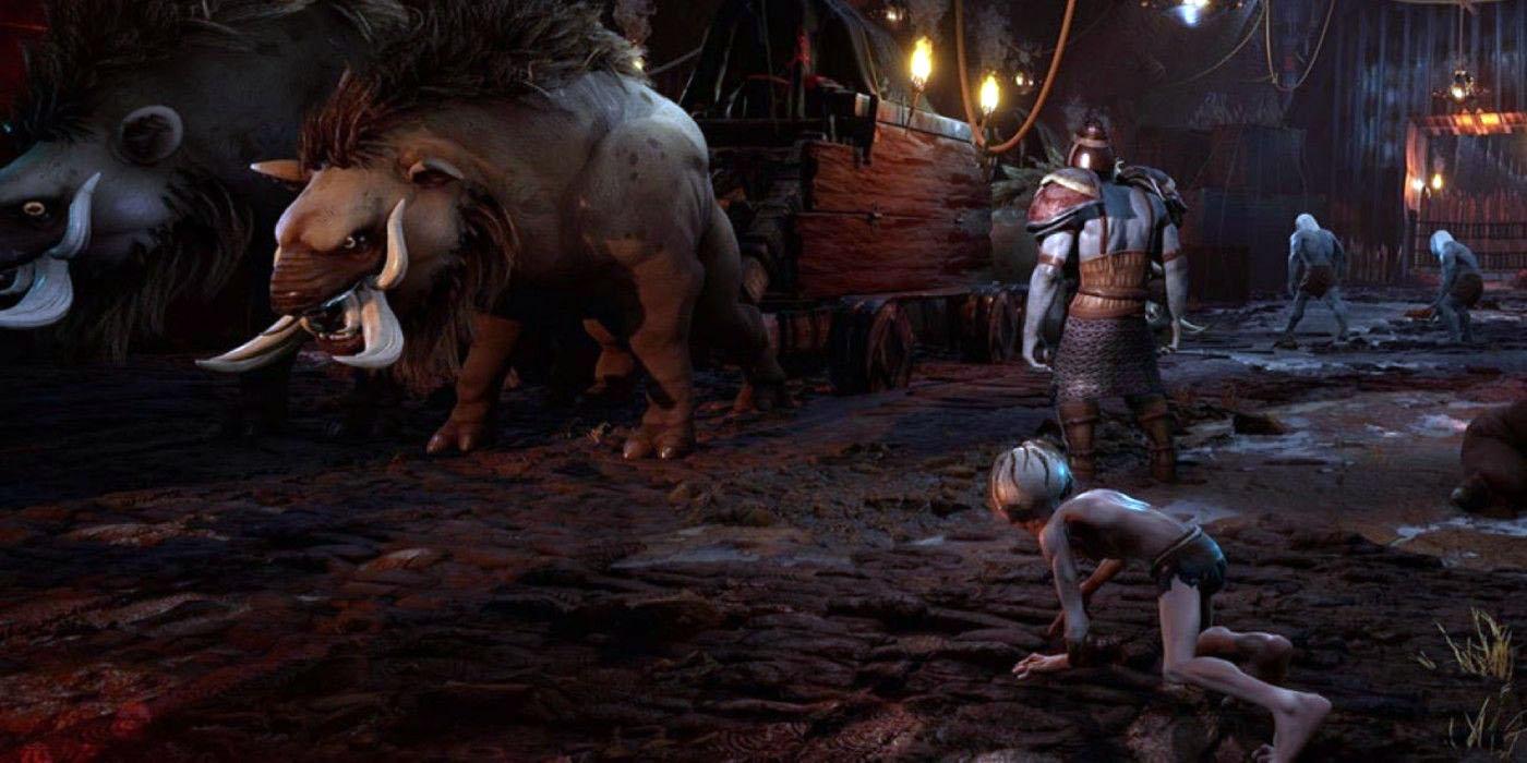 Gollum gameplay