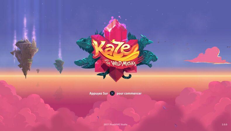 Kaze and the Wild Masks logo