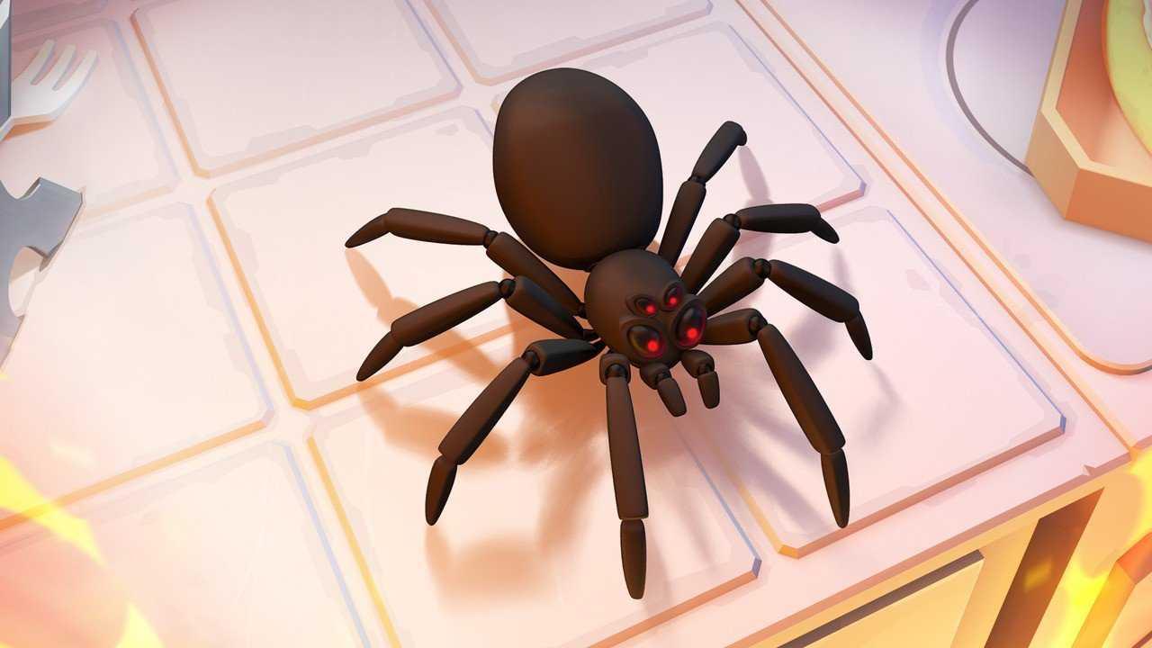 Kill it with Fire araignée