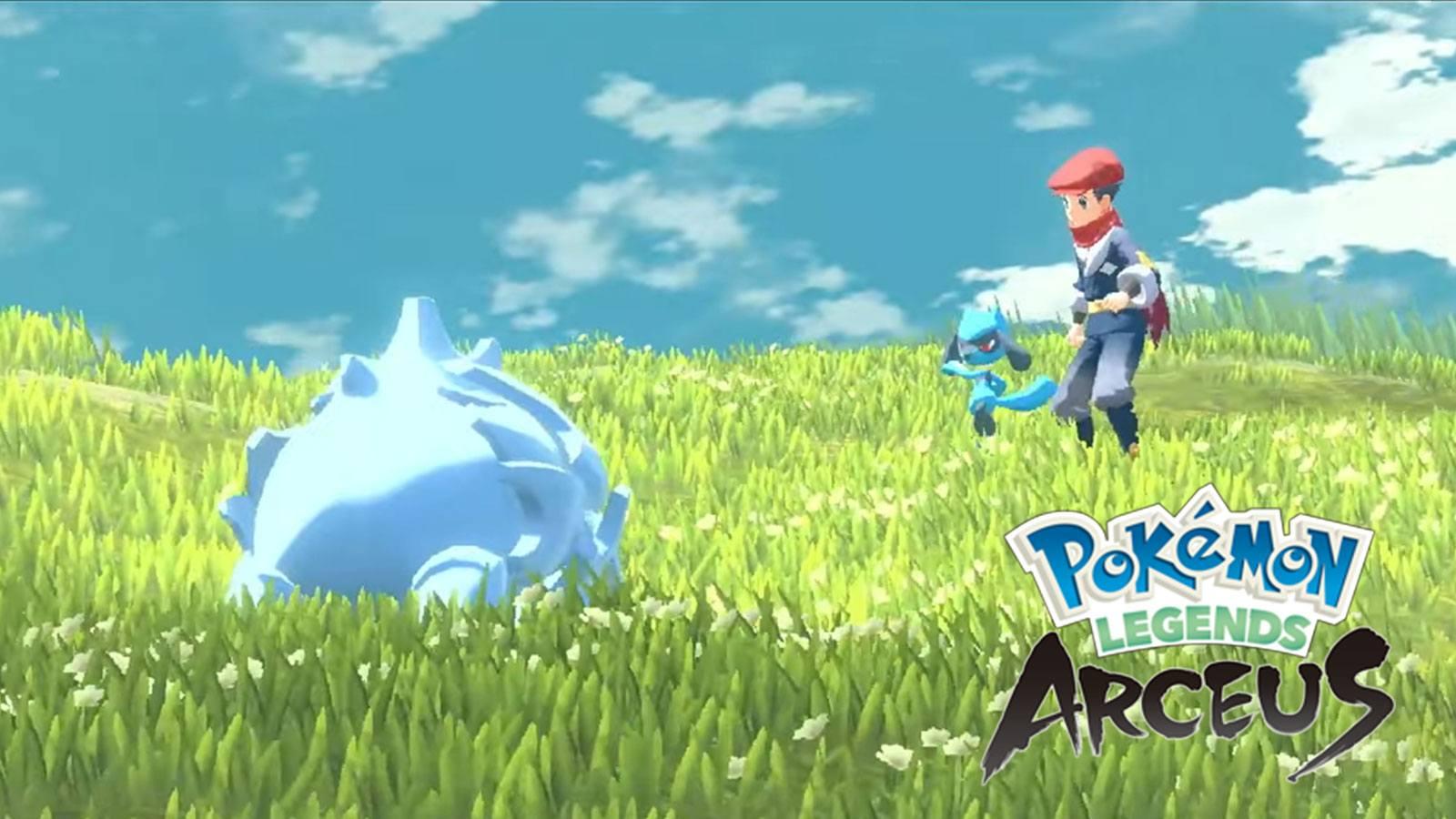 Légendes Pokémon : Arceus - Combat