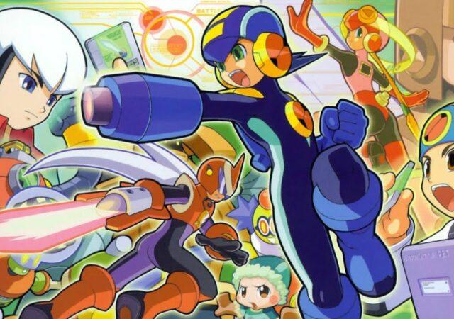 Mega Man Battle Network - Mash-up persos