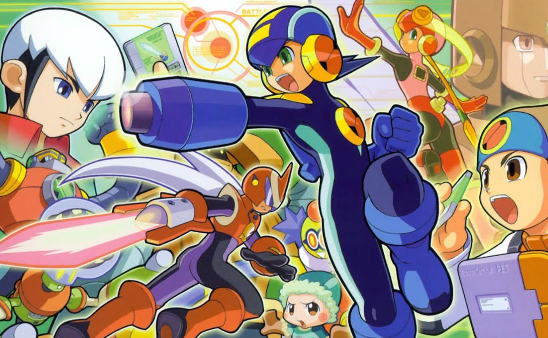 Mega Man Battle Network - Mash-up persos