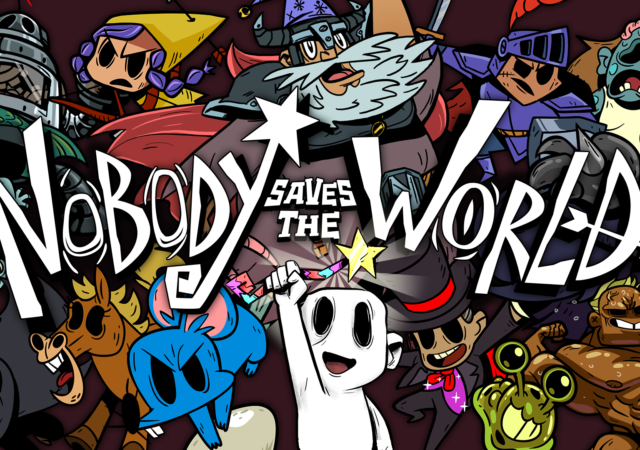 Nobody saves the world sortie