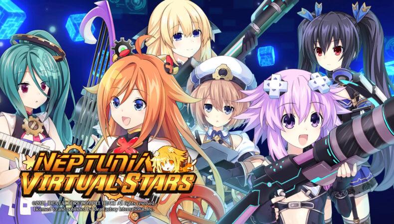 Neptunia Virtual Stars all cast titre