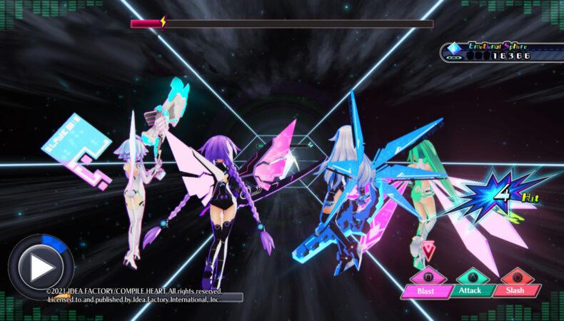 Neptunia Virtual Stars coup spécial