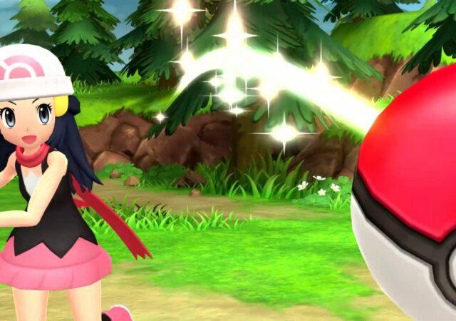 Pokémon Diamant Étincelant et Perle Scintillante