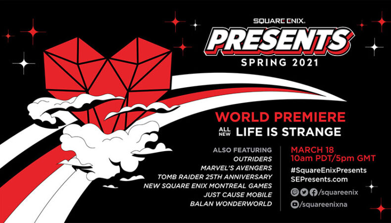 Square Enix Present Affiche