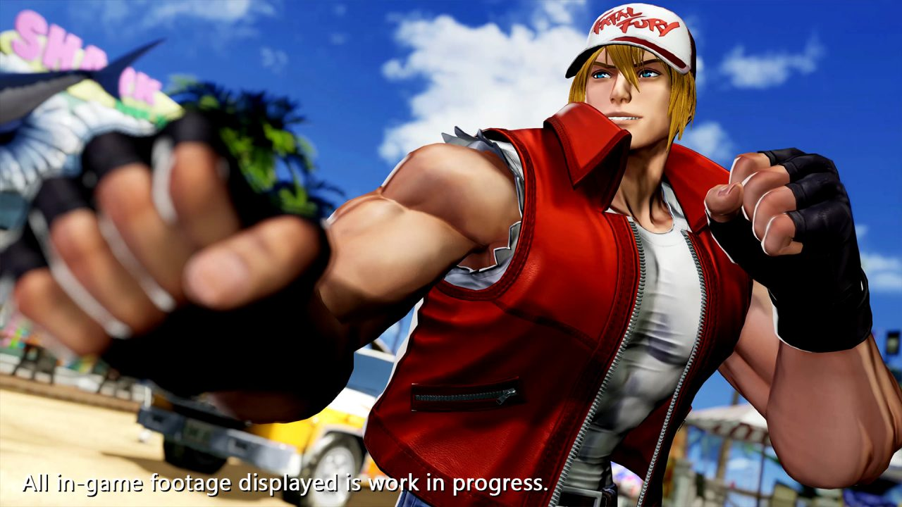 The King of Fighters 15 Terry Bogard