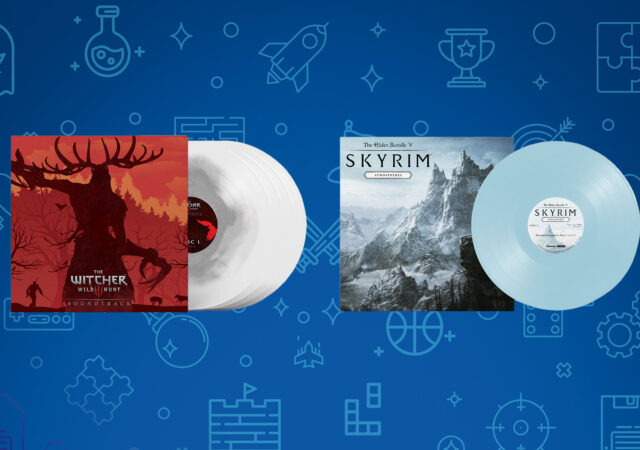 Vinyles The Witcher 3 Skyrim