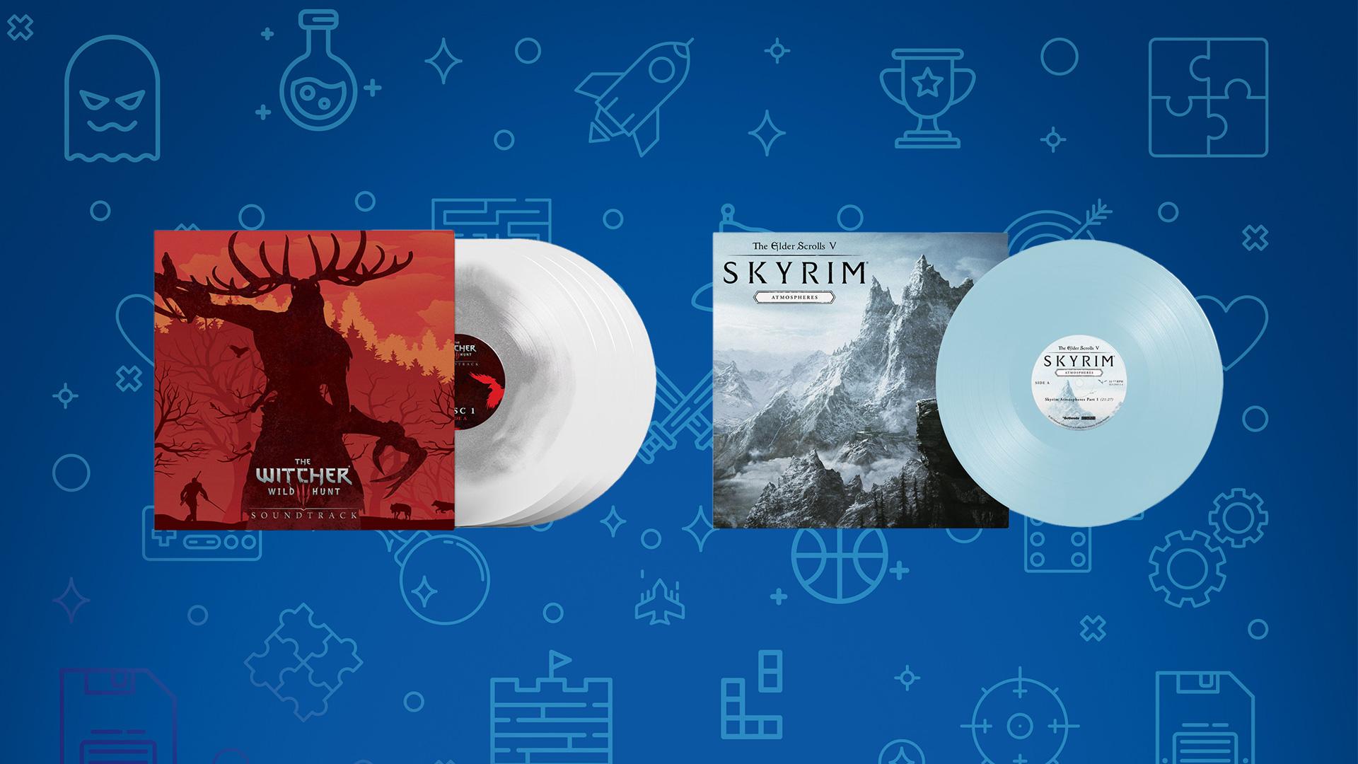 Vinyles The Witcher 3 Skyrim