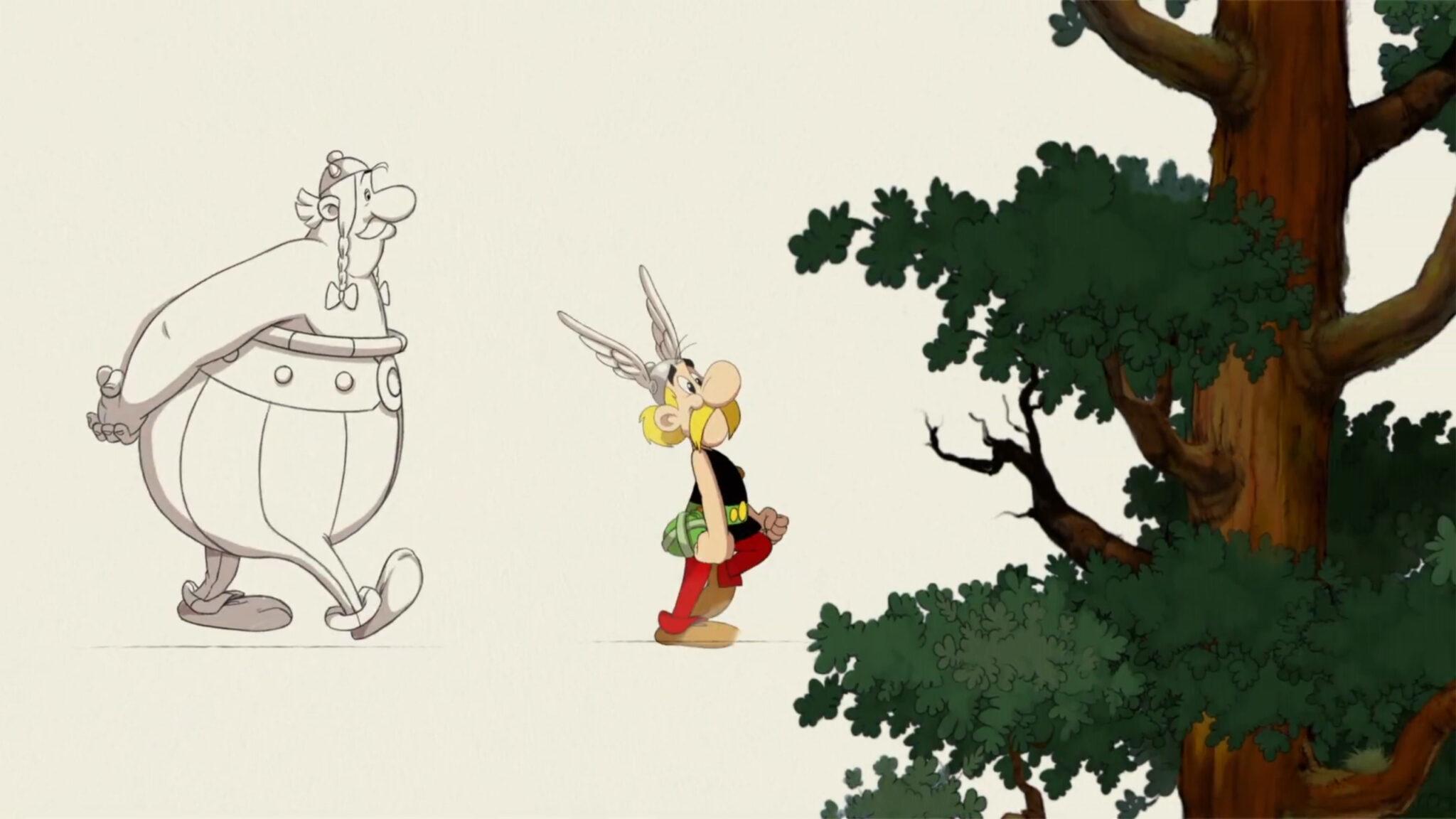 Astérix & Obélix : Baffez-les Tous ! astérix & obélix dessin