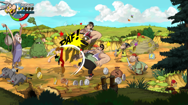 Astérix & Obélix : Baffez-les Tous ! bagarre shaman