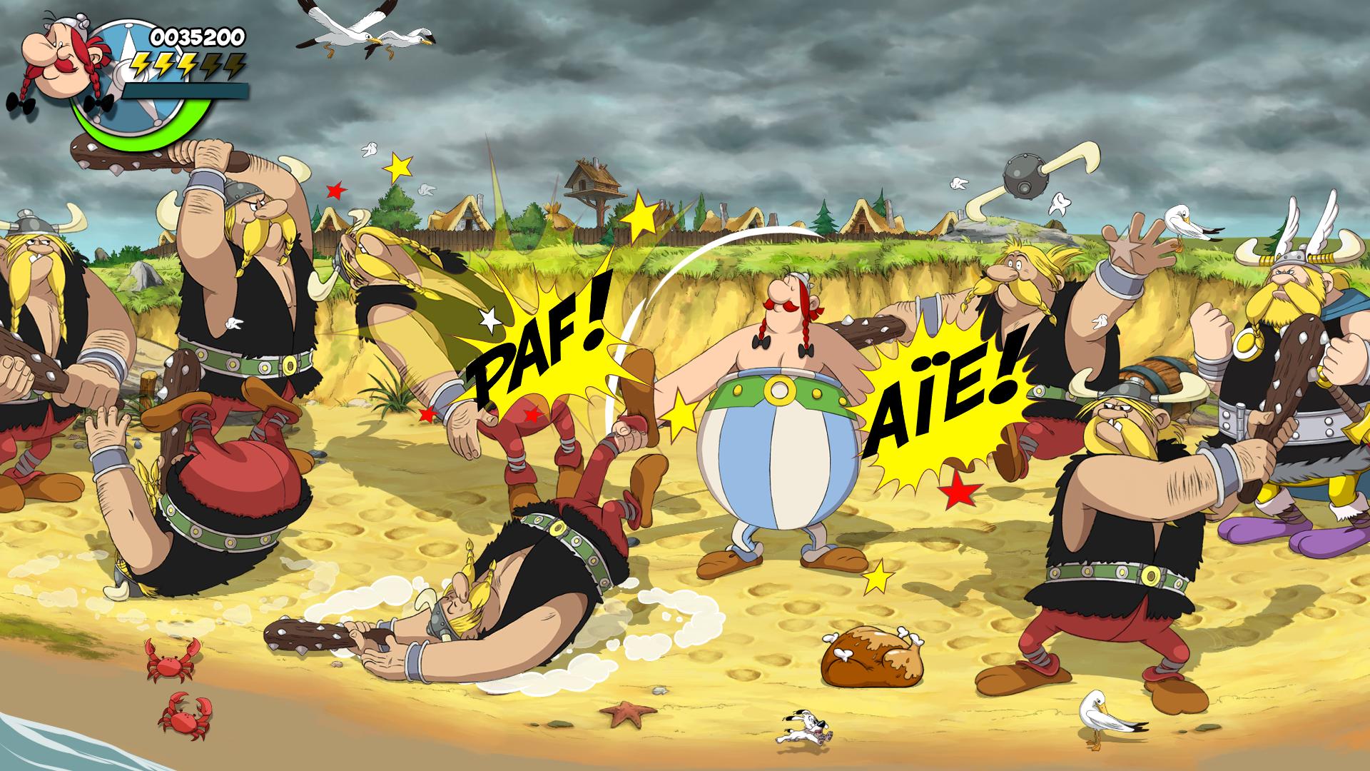Astérix & Obélix : Baffez-les Tous ! bagarre gaulois