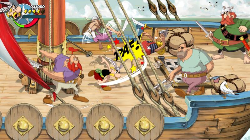 Astérix & Obélix : Baffez-les Tous ! bagarre pirates